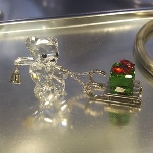 Swarovski Kris Bear Crystal Ornament